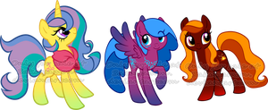 Mare Pony Adoptables 3 by Sakuyamon
