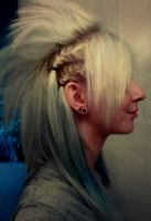 Braided Mohawk. by darkenedhearte