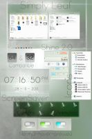 Simply Leaf - Windows 7 Theme by LeafVFX