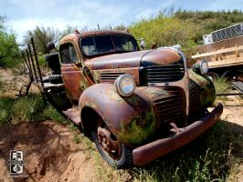 Rusty Old Dodge by Swanee3