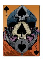 3 of Spades by DarkMechanic