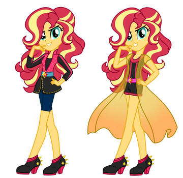 AU Sunrise Shimmer by MixiePie