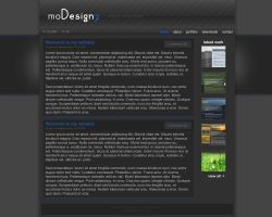 Personal Blog Site - moDesignz by moDesignz