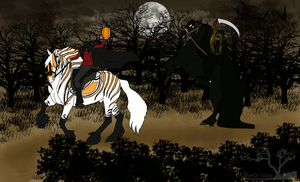 The Night Ride of Death and the Hessian by Shayla-Estate