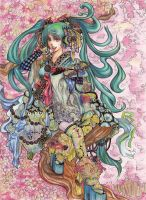 Vocaloid- Oriental Sync by aiholic