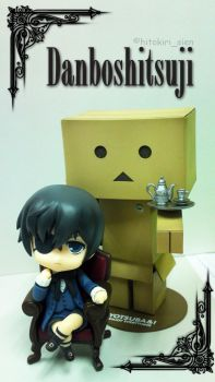 His Butler, a Danboard by darkLuciferZ