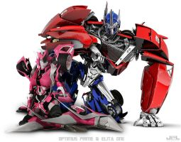 TFP - Optimus Prime - Elita One by X4vrztesp