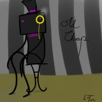 Old Chap Enderman by LuxioCrafter
