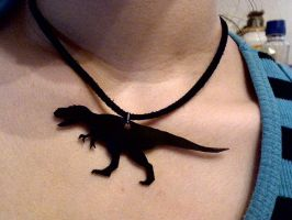 dino necklace by pnuewave