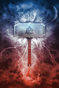 Mjolnir by 3D-Fantasy-Art
