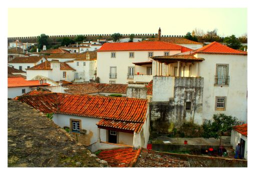 Obidos View XI by FilipaGrilo