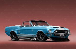 1968 Shelby Mustang GT500KR by VTMG-Engineering