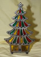 stained glass tree by objekt-stock
