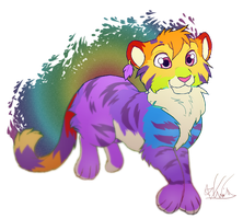 Mister Rainbows by Kiwi-Heart