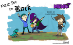 Feliz Dia do Rock! by MANGAKATENCHIGU