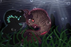 In the kelp bed by Kryptic-Creations