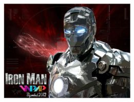 IRON MAN SILVER IN SKINTONE OF WPAP by YUHEND