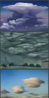Clouds study by lukkar