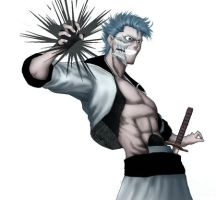 bleach Grimmjow Jeagerjaques by radouane20