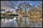 Lyng millpond in colour. by Salemik