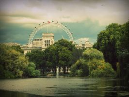 the eye of london by Calliopedoll
