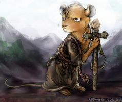 Mariel of Redwall by CatusSnake