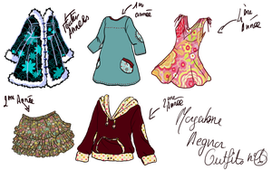 OC harry potter morgahne aegnor outfits 1 by Alizarinna