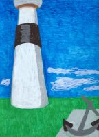 Memories Of Summer 2014  Absecon Lighthouse by FallOutWoman