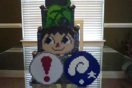 Various Perler Animal Crossing Crafts by Perler-Pony