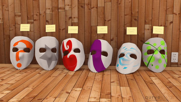 Masks of the Faceless by eurekasfray