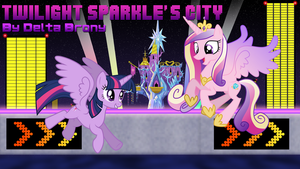 [MLP FiM x Wave Race 64] Twilight Sparkle's City by DashieMLPFiM
