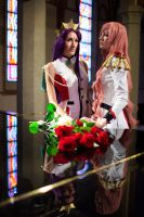 Anthy to Utena by tajfu