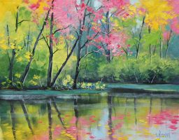 River Colors by artsaus