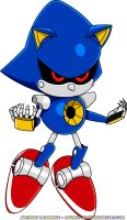 Classic Metal Sonic by Advert-man