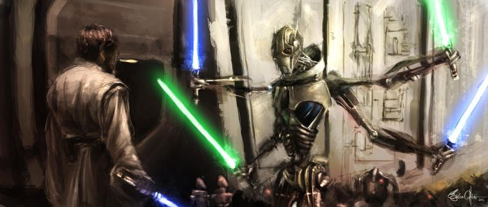 Grievous General's lightsabers collection by Signore-delle-Ombre