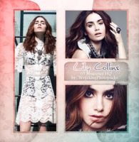 Photopack 509 - Lily Collins by BestPhotopacksEverr