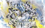 20 Years - North Queensland Cowboys Wallpaper by skythlee