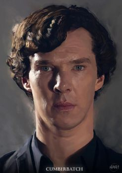 Benedict Cumberbatch by Paganflow