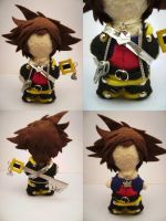 Sora Plush Voodoo Style by auragoth