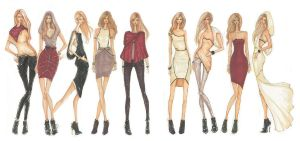 Fashion Design by prettytoughchic