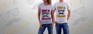 Movember T-shirt by snkdesigns