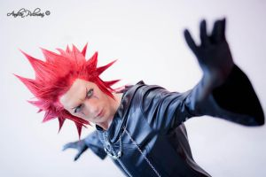[NEW] Axel Kingdom Hearts 3 Cosplay Art Tribute by LeonChiroCosplayArt