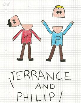 terrance and philip by rockinthecity