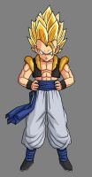 Kid Super Gogeta by hsvhrt