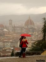 Red Florence by IsaZeta
