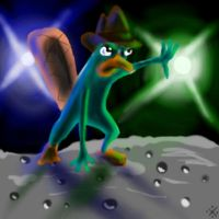 Perry the Platypus by MirandaPavelle