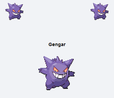 Gengar.... well duh... by Andrea-Perry