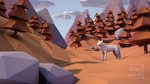Low Poly Forest by Kawana-n