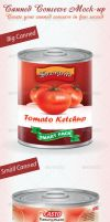 Canned Conserve Mock-up by idesignstudio