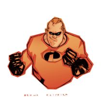 mr incredible colors by bbrunoliveira